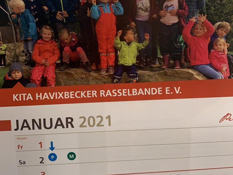 Wir sind im Kalender!