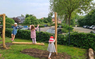 Neuer Niedrigseilgarten eingeweiht